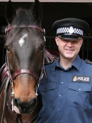 Pendle and PC Dave Palmer-Davies