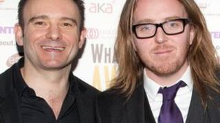Matthew Warchus and Tim Minchin, director and composer of Matilda the Musical