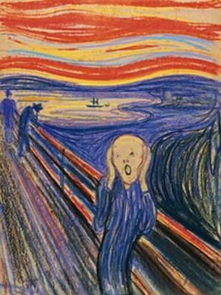 Edvard Munch's The Scream (1895)