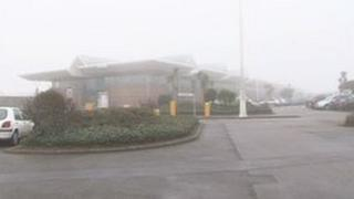 Fog at Jersey Airport