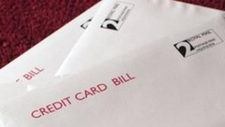 Credit card bill - generic