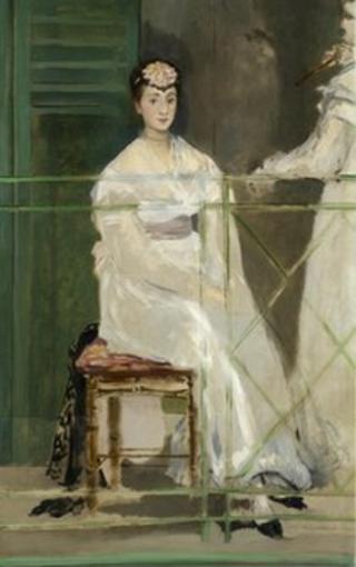 Edouard Manet, Portrait of Mademoiselle Claus, 1868