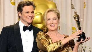 Meryl Streep and Colin Firth