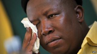 File: Julius Malema, Mangaung 2011