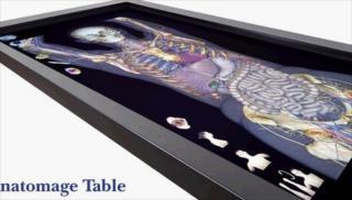 Anatomage's virtual operating table