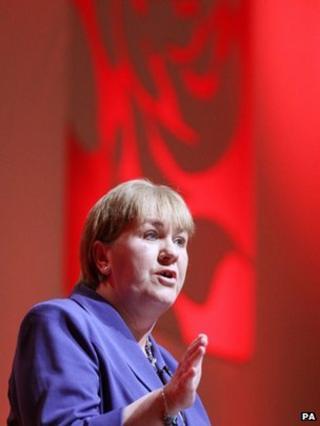 Johann Lamont at the Scottish Labour conference