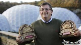 Pasty championship winner Graham Cornish. Pic: Eden Project