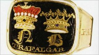 Admiral Lord Nelson mourning ring stolen from Norwich Castle Museum