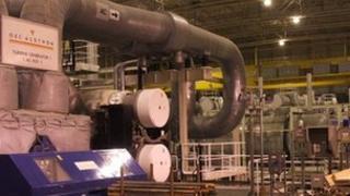 Sizewell B turbine hall