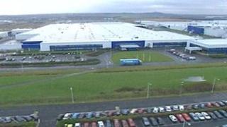 Nissan plant at Sunderland