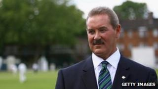 Allen Stanford at Lord's [11 June 2008]