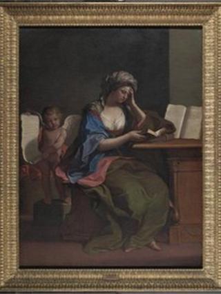 The Samian Sibyl by Giovanni Barbieri