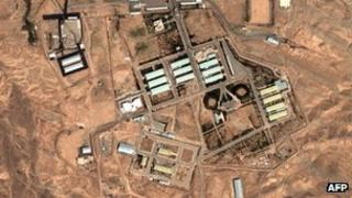 Satellite image of Parchin nuclear facility in Iran (file image from 2004)