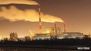 Zeran thermal power station in Warsaw, file pic