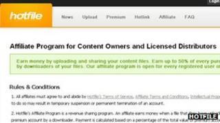 Hotfile affiliate programme