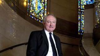 Nigel Brown, grand secretary of the United Grand Lodge of England in Freemasons' Hall, London. Photo: United Grand Lodge