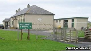Shelibost school - pic Chris Wimbush/ Geograph