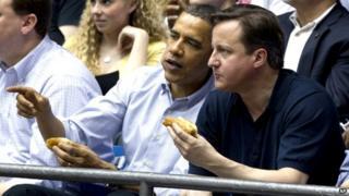 US President Barack Obama and British Prime Minister David Cameron