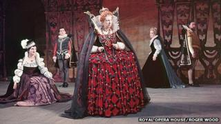 Gloriana in 1953, Roger Wood Collection, copyright Royal Opera House