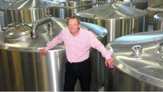 David Grant at the Brewery