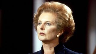 Margaret Thatcher in 1981