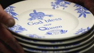 Middleport Pottery Jubilee plates