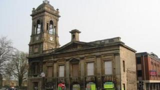 Locarno building in Swindon