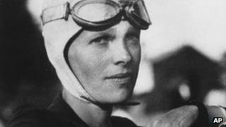 Amelia Earhart in undated photo