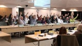 Vote on South Gloucestershire Council's cabinet