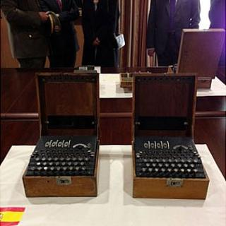 Spanish Enigma machines