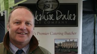 Stephen Knox, owner of the Yorkshire Dales Meat Company