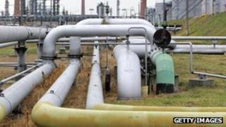Oil pipeline, Russia