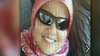 A photo reported to be of Shaima Alawadi