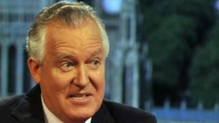 Peter Hain on the Andrew Marr show
