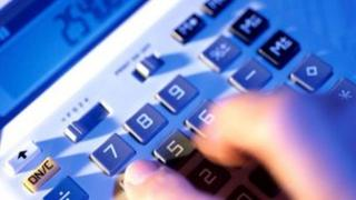 Stock picture of calculator