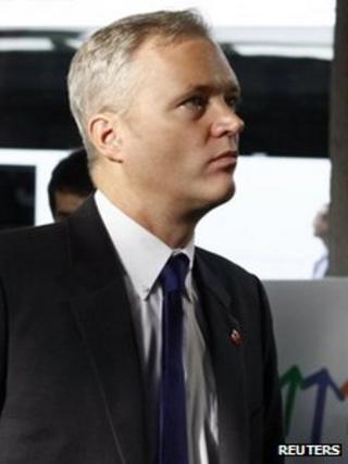 Sten Tolgfors, September 2011