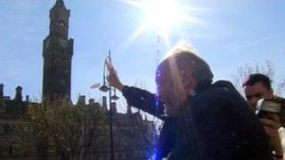 George Galloway in Bradford