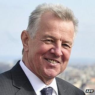 Hungarian President Pal Schmitt - file pic