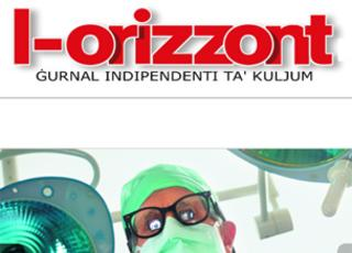 Front page of L-Orizzont