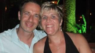 Liz Crowter and husband Steve