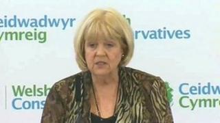 Ysgrifennydd Cymru Cheryl Gillan