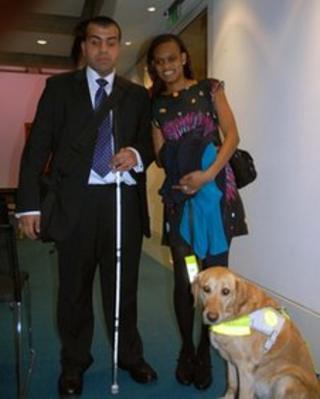 Mohammed Mohfanali and Ramona Williams