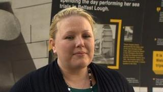 Kelly Frizell of Belfast City Council