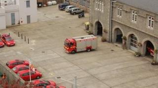 Guernsey Fire and Rescue headquarters in St Peter Port
