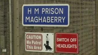 Maghabeery prison signs