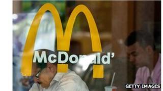 McDonald's store, New Delhi