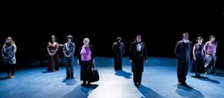 The participants of 9 at West Yorkshire Playhouse