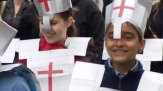 St George's Day parade, Gravesend