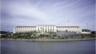 San Quentin Prison, San Francisco Bay (file pic)