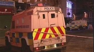 Scene of Derry shooting